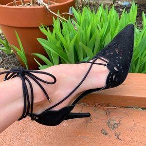 NWT black heels
